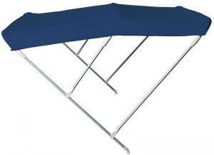 Tendalino Pieghevole 3 Archi P.180cm H.115cm L.200/210cm Blu Navy #OS4690833