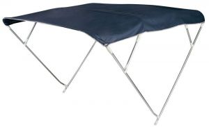 4 Bow Depth Bimini D.250cm H.145cm W.180/190cm Navy Blue #OS4691814