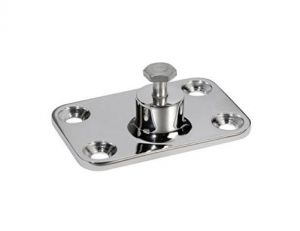 Supporto a parte 48x73mm in acciaio inxo per Tendalino - Serie Heavy Duty #OS4640400