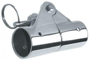 Snodo esterno a 90° Inox AISI 316 per tubi Ø30mm #N120412028193