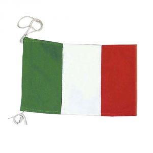 Bandiera di cortesia Italiana in stamigna di poliestere 20x30cm #N30112503658