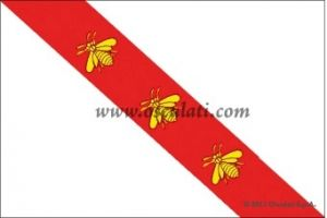 Bandiera in stamigna - Isola d'Elba - 30x45cm #OS3541802