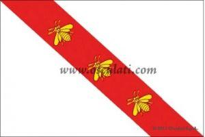 Heavy polyester flag - Island of Elba - 30x45cm #OS3541802