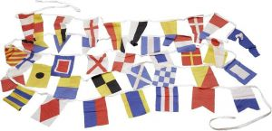 Great bunting flag set with 40 flags 14x20cm #OS3545310