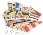Great bunting flag set with 40 flags 30x45cm #OS3545312