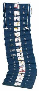 Heavy nylon Great Bunting flag set 20x30cm #OS3537000