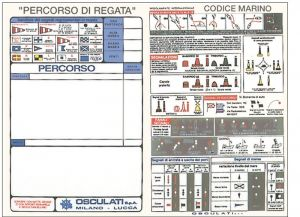 "Adesivo ""Codice Marino"" D.24x16cm #OS3545299"