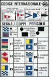 """Adesivo """"Codice Internazionale"""" D.16x24cm #OS3545293"""