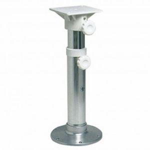 Stainless steel swivel telescopic pedestal with Aluminium Seat mount 45-62 #OS4865000