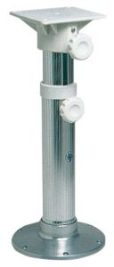Stainless steel Swivel telescopic pedestal with Nylon Seat mount 5-62cm #OS4866000