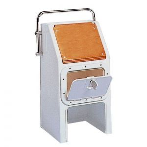 White Fibreglass Steering Console H.81cm Base 40x44cm #OS4830000