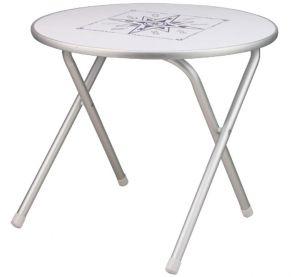 Tavolo pieghevole con piano laminito idrofugo 60xh50cm #OS4835411