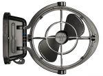 Ventilatore CAFRAMO modello Sirocco II Nero 12V/24V 1,17A 3 Velocità #OS1675501
