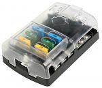 Polycarbonate fuse holder box 6 seats #OS1418306