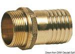 """Portagomma D.30mm in ottone - Filetto D.1"""" #N81837601673"""