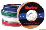 Marlow white whipping twine spool D.0.4mmx41mt #N120283004526