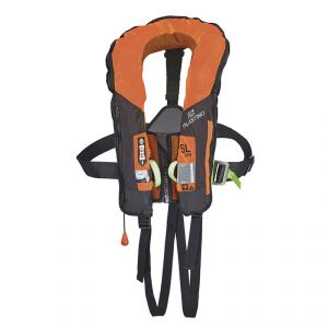 Plastimo SL 180 180N Lifejacket Automatic with Safety Harness Orange #FNIP64968