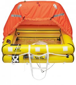Transocean 8-man Liferaft Rigid container #FNIP52383