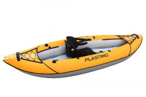 Kayak for one person Orange 269x91,5cm #FNIP66112