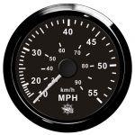 Osculati Water pressure Speedometer 0-55MPH 12/24V #OS2732509