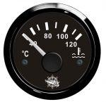 Osculati 12/24V Water Temperature Gauge Signal 40-120°C #OS2732008