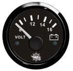 Osculati 12V Voltmeter Scale 8/16V #OS2732014