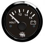 Osculati Voltmetro Scala 8/16V 12V #N100069722514