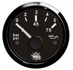 Osculati 12/24V  Oil Pressure Gauge Scale 0 - 5 bar #OS2732010