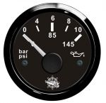 Osculati 12/24V Oil Pressure Gauge Scale 0 - 10bar #OS2732011