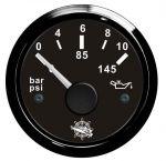 Osculati Indicatore Pressione Olio Scala 0-10bar 12/24V #OS2732011