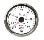 Osculati Water Pressure Speedometer Scale 0-55MPH 12/24V #OS2732709
