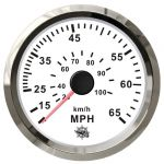 Osculati Spidometro Pitot a pressione d'acqua Scala 0-65MPH 12/24V #OS2732710