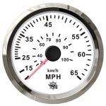 Osculati Water Pressure Speedometer Scale 0-65MPH 12/24V #OS2732710