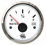 Osculati Indicatore Livello Acqua Segnale 240-33 Ohm 12/24V Tipo USA Quadrante Bianco #OS2732203