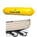 Rullo alaggio gonfiabile in PVC D.22x130 cm Portata 200 kg #N91359604396
