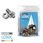 Blister 10p Loxx Tenax M5 10mm metric screws with nut #MT3214294