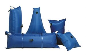Flexible water tanks 120Lt Triangular #FNIP16658