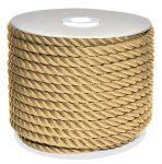 Sea King twisted mooring rope 50mt spool Ø26mm Hemp Colour #AM00219347