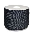 Sea King twisted mooring rope 50mt Ø26mm Black #AM00219375