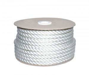 Sea King twisted mooring rope 100mt Ø28mm White #AM00219577
