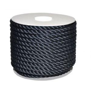 Sea King twisted mooring rope 100mt Ø28mm Black #AM00219578