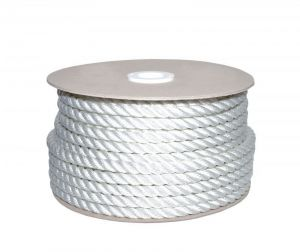 Sea King twisted mooring rope 100mt Ø30mm White #AM00219580