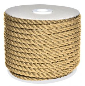Sea King twisted mooring rope 100mt Ø10mm Hemp #AM00219583
