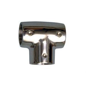 Tee a 90° in acciaio inox - per Tubo di Diametro esterno 25mm #N60840528063