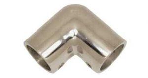 Angolo in inox microfuso 90° per Tubo di Diametro esterno 22mm #N60840528066