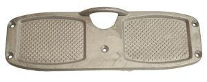 Aluminium transom plate - 315x100cm #MT4712310