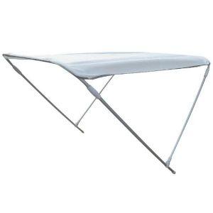 Tendalino 2 Archi in Alluminio H.110cm Larghezza 170cm Lunghezza 180cm Bianco #MT3266057