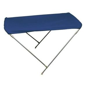 Aluminium 2 Arch Bimini H.110cm W.130cm L.180cm Navy Blue #MT3266063