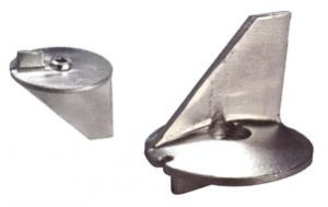 Anodo di Zinco a Pinna 3B7-60217-0 TOHATSU 60 - 70 - 140 Hp ∅ 77 mm #N80607330932