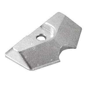 Zinc plate anode for MERCURY MARINER MERCRUISER 810945M YAMAHA MARINER 6L5-45251-03 SELVA outboards #N80607430613